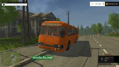 Мод автобуса ЛиАЗ 677 для FS 2015