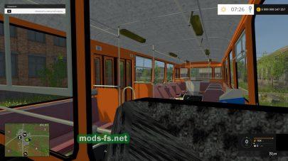 Пассажирский автобус liaz-677
