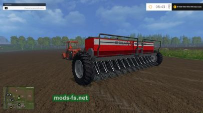 Сеялка massey ferguson 326 для Farming Simulator 2015