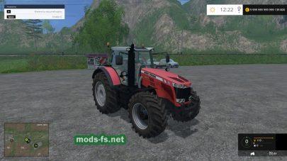 Мод трактора MASSEY FERGUSSON для FS 2015