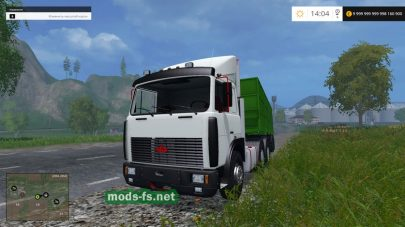 МАЗ 6422-9370 для Farming Simulator 2015