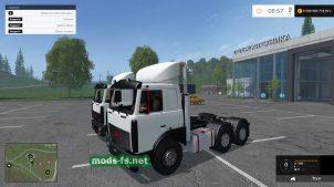 maz-5432 mods