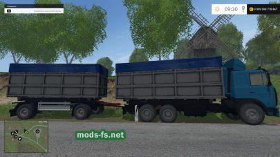 МАЗ 630308 с прицепом для Farming Simulator 2015