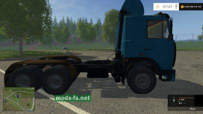 Скриншот мода МАЗ 642208
