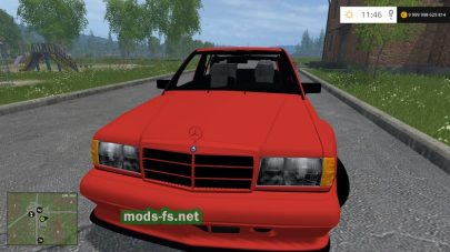 Мод MB E190 2.5-16 Evolution II v1