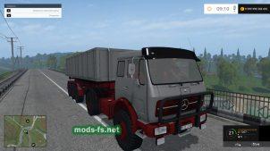 Мод грузовика MB NG 1632 4X4