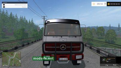 MB NG 1632 4X4 mods