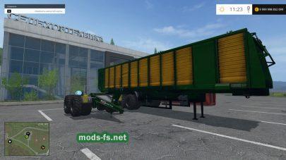 Мод прицепа «MBJ Chopped Semitrailers»