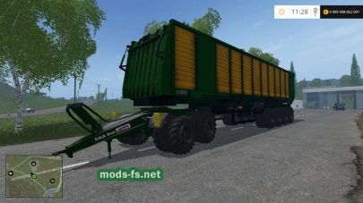 «MBJ Chopped Semitrailers»