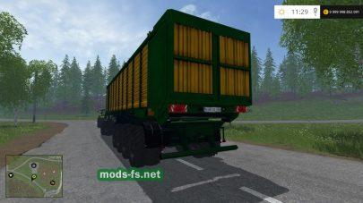 Мод «MBJ Chopped Semitrailers» для FS 2015