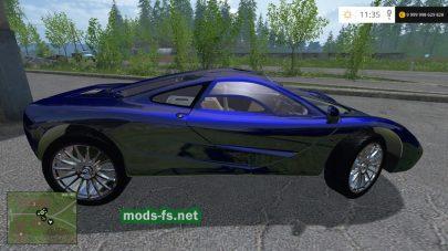 Мод автомобиля MCLAREN