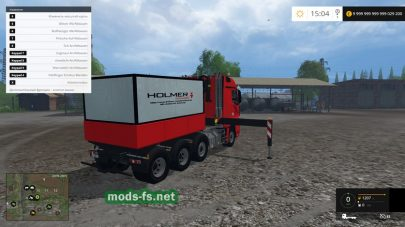 Mercedes Actros MP4 SLT