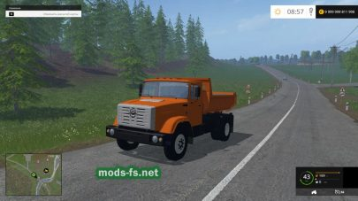 Мод ЗИЛ-ММЗ-45085 для FS 2015