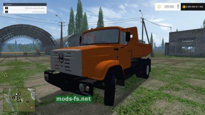 Модификация грузовика ЗИЛ-ММЗ-45085