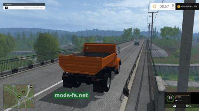 Самосвал ЗИЛ-ММЗ-45085 для игры Фермер Симулятор 2015