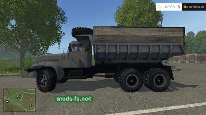 Скриншот мода КрАЗ 256Б