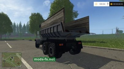 Мод КрАЗ 256Б для Farming Simulator 2015