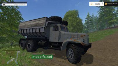 Мод грузовика КрАЗ 256Б