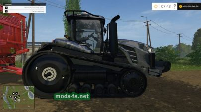 CHALLENGER MT875E mods