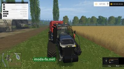 Трактор CHALLENGER MT875E 2016 X-EDITION для Farming Simulator 2015
