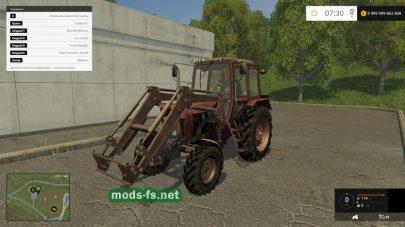 Скриншот мода «MTZ-82 by SP»