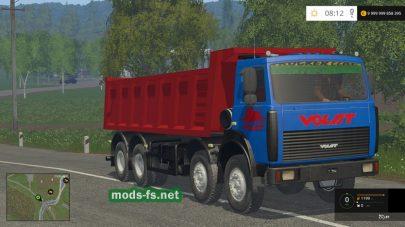 Грузовик МЗКТ-65152 для Farming Simulator 2015