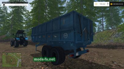 «ПТС12Б» для Farming Simulator 2015
