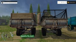 """ПТС-9"" для игры Farming Simulator 2015"