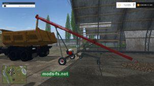 Sakundiak: погрузчик для зерна в игре FS 2015