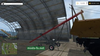 Мод шнекового погрузчика для Farming Simulator 2015