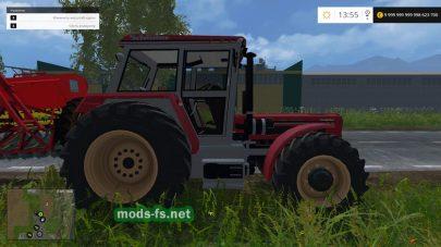 Трактор Мод Мод трактор Schlüter Super 1500 TVL для игры Фермер Симулятор