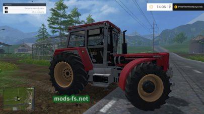 Мод Мод трактора «Schlüter Super 1500 TVL» для FS 2015