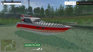 Катер для Farming Simulator 2015