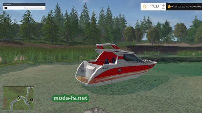 Мод лодки для FS 2015