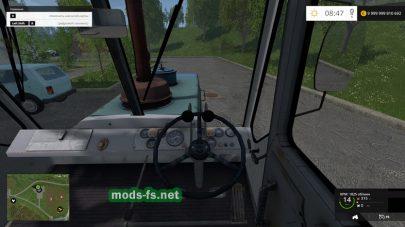 Мод трактора T150 ХТЗ (гусеничный)