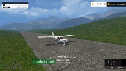 Модификация легкого самолета для FS 2015