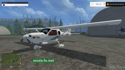 Мод «TFSG JABIRU J160» для Farming Simulator 2015