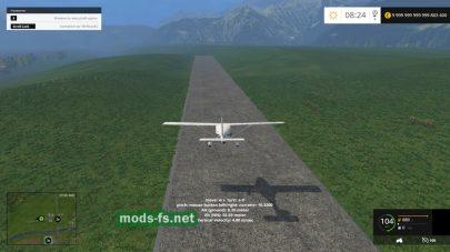 Самолет tfsg для Фермер Симулятор 2015