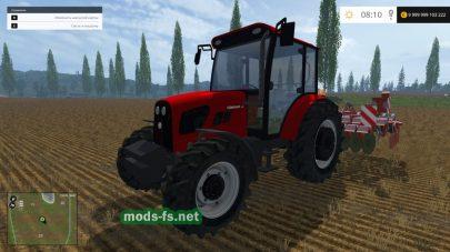 «Tumosan 8105 4wd» v2.0