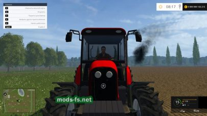 Tumosan 8105 4wd для игры Farming Simulator 2015