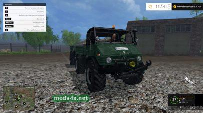 Мод «Unimog 406 Cabrio» для Farming Simulator 2015