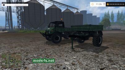 Модификация грузовика «Unimog 406 Cabrio»