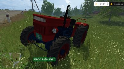 Трактор UNIVERSAL 445 DT для Farming Simulator 2015