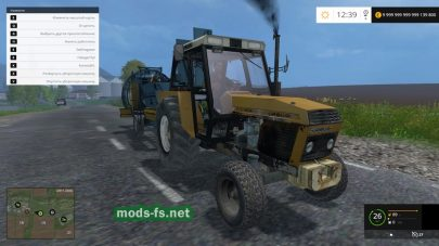 Мод URSUS 912 для Farming Simulator 2015