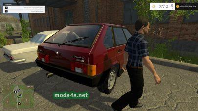 Скриншот мода ВАЗ-2109