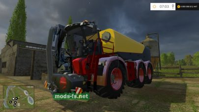 Vredo VT5518 для Farming Simulator 2015