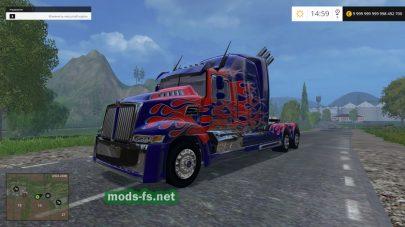 Модификация тягача «Western Star Optimus Prime 5»