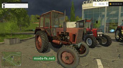 Мод пак тракторов ZENTOR и МТЗ