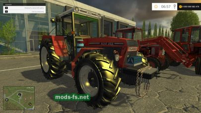 Трактора ZENTOR для Farming Simulator 2015