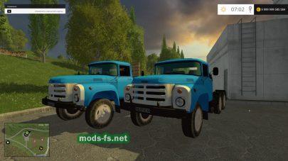 Пак грузовиков ЗиЛ для Farming Simulator 2015